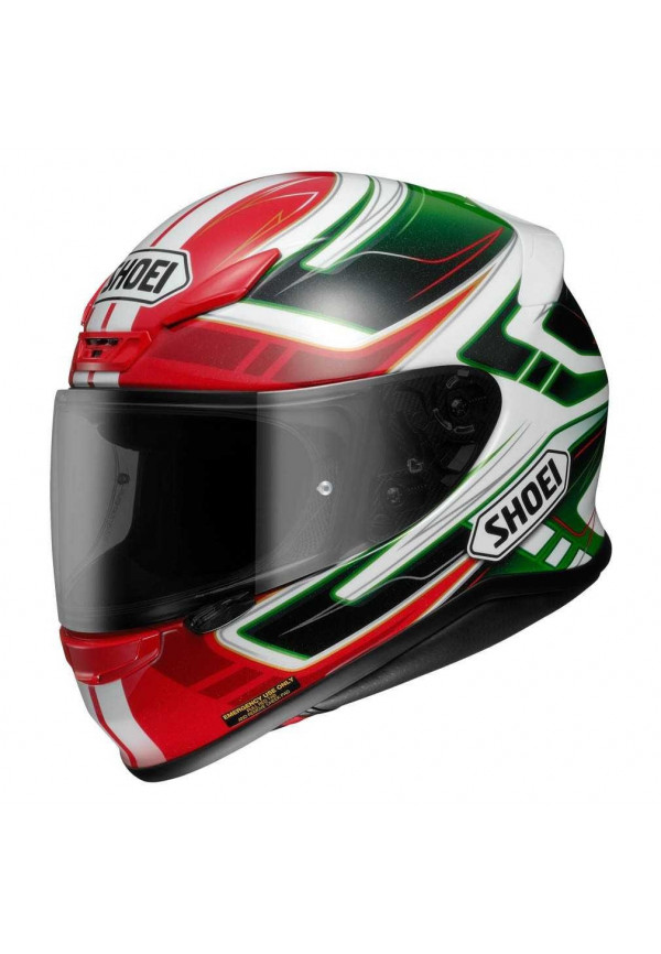 SHOEI NXR VALKYRIE TC-4 GREEN OUTLET