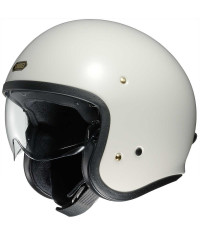 SHOEI J•O (J-O, JO) OFF WHITE (Bianco) - Casco JET