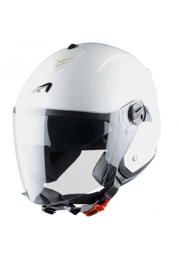 ASTONE casco MINI JET 'S' BIANCO LUCIDO WHITE GLOSS