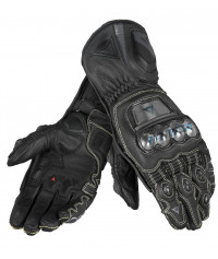 DAINESE FULL METAL D1 GLOVES Nero - Guanto Pelle TOP