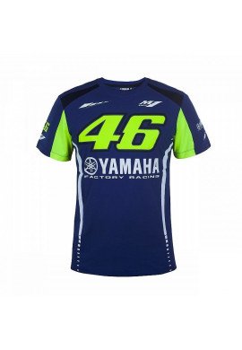 T-Shirt VR46 YAMAHA Blue/Yellow
