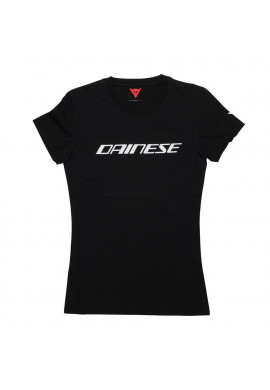 T-Shirt Dainese LOGO LADY Black/White