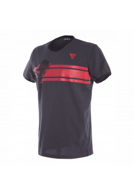 T-Shirt Dainese Glove Black/Red