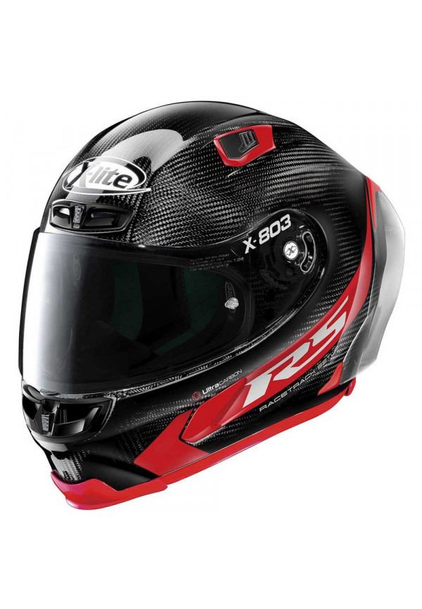 X-LITE X-803 RS ULTRA CARBON Hotlap 13 Carbon/Red
