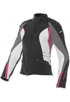 DAINESE G.ARYA TEX LADY Donna Nero-Dark Gull Gray-Fuchsia
