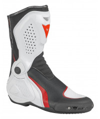 DAINESE TR-COURSE OUT AIR STIVALE MOTO - NERO/BIANCO/ROSSO