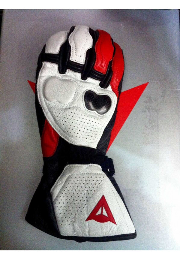 DAINESE RS4 NEW GUANTO Nero/Bianco/Rosso