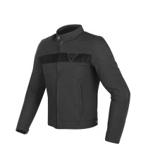 DAINESE STRIPES TEX JACKET BLACK/BLACK