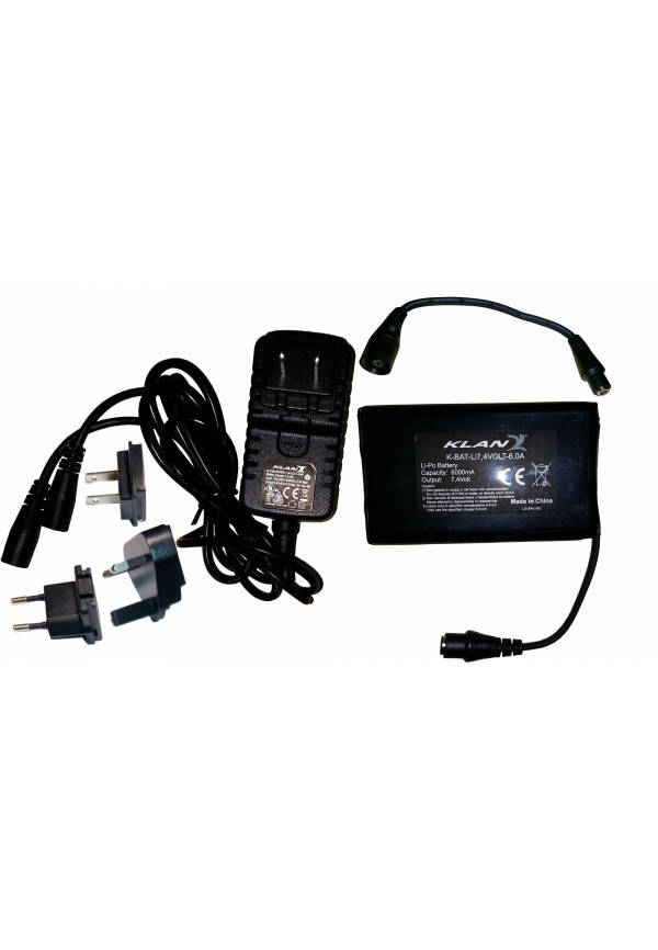 KLAN Accessorio Battery/Charger Kit 7.4V 6A
