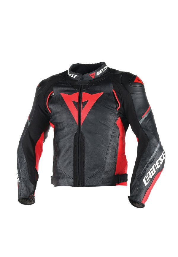 nuovi stili 5d053 31c33 DAINESE G.SuperSPeed D1 PELLE Black/Red Giacca moto