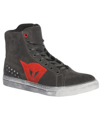 DAINESE STREET BIKER D-WP Carbon/Red