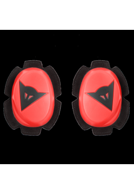 Dainese Knee Slider PISTA Red Fluo