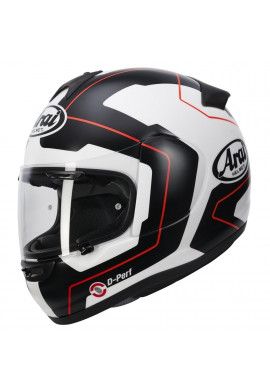 ARAI AXCES III LINE RED