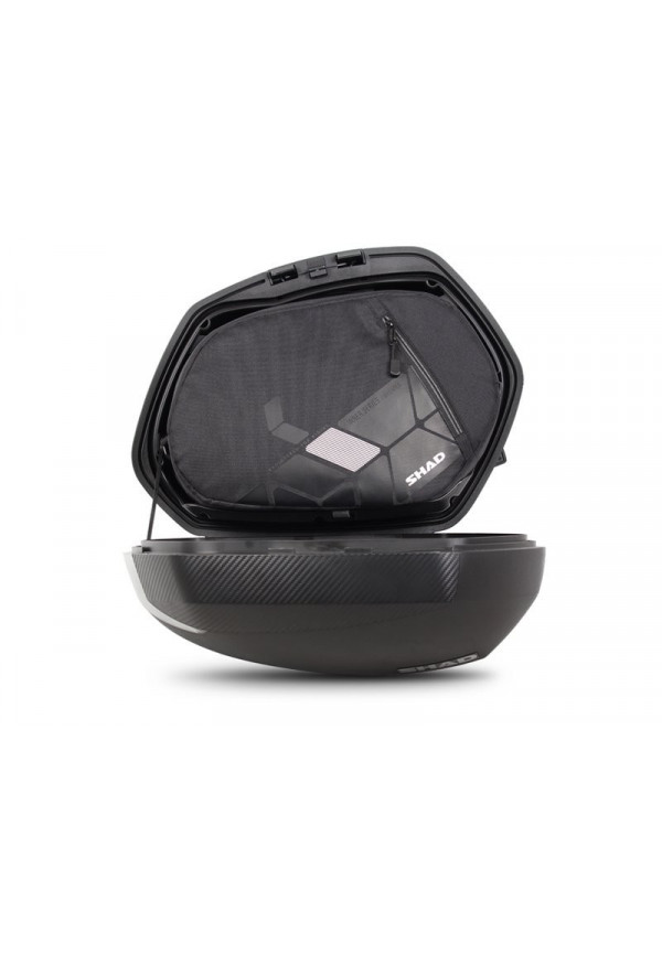 SHAD SH36 SIDE CASES CARBON COVER - VALIGIE LATERALI