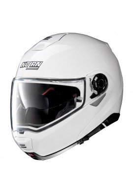 NOLAN N100-5 CLASSIC N-COM - METAL WHITE
