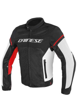 DAINESE G.AIR FRAME TEX NERO/BIANCO/ROSSO