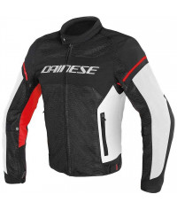 DAINESE G.AIR-FRAME TEX NERO/BIANCO/ROSSO