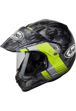 ARAI TOUR-X 4 COVER FLUOR YELLOW