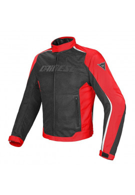 DAINESE G.HYDRA FLUX D-DRY RED/BLACK/WHITE Giacca Traforata Impermeabile