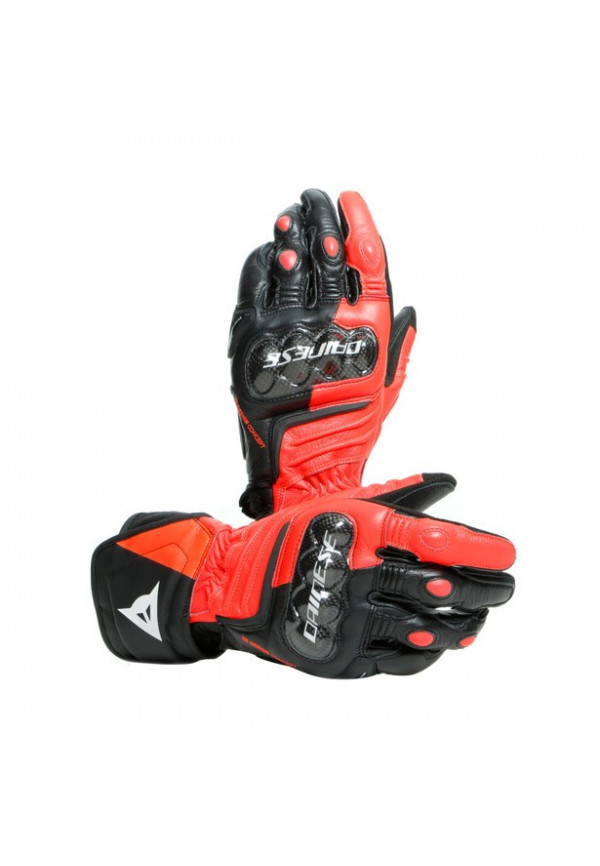 DAINESE CARBON 3 LONG Black/Fluo-Red/White